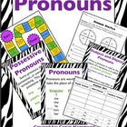 Pronouns (Singular, Plural, Possessive, Subject, Object)