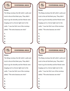 Proofreading Marks: Ten-Minute Grammar Unit #1