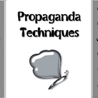 Propaganda Techniques Powerpoint-  Gray Butterfly