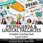 Propaganda and Logical Fallacies Review Games & Assessment