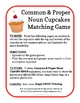 Proper Noun Cupcakes Matching Game