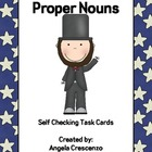 Proper Nouns Task Cards