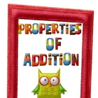 Properties of Addition Worksheets and Activities