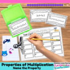 Properties of Multiplication {Math Workshop Activity}
