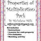 Properties of Multiplication Pack