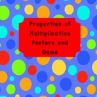 Properties of Multiplication Posters {Color and B&W) and F