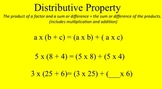 Properties of Multiplication and Division