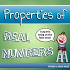 Properties of Real Numbers Unit