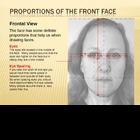 Proportions of the Face PowerPoint - Drawing a Portrait