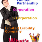 Proprietor, Partner, Corporation Business Organizations Chart 