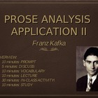 "Prose Analysis Application: Kafka and ""A Hunger Artist"""