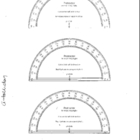 Protractor Sheet Transparancy