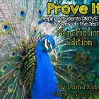 Prove It! Non-Fiction Edition {Animals} - Proving Answers