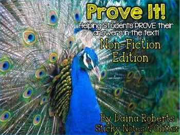 Prove It! Non-Fiction Edition {Animals} - Proving Answers From The Text