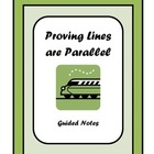 Proving Lines are Parallel