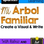 Proyecto: Arbol Familiar Writing Prompt AND Rubric