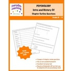 Psychology Intro and History Chapter Outline Questions Free