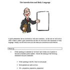 Public Speaking Basics . . Introduction and Body Language