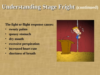 Public Speaking:Speech Anxiety/Stage Fright Explanation&Remedies