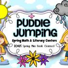 Puddle Jumping {Spring Math & Literacy Centers}