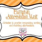 Pumpkin Abbreviation unit