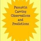 Pumpkin Carving Observations and Predictions