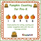 Pumpkin Counting for Pre-K