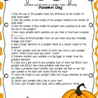 Pumpkin Day Ideas