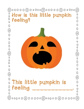 Pumpkin Faces Book FREEBIE