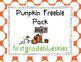 Pumpkin Freebie Pack
