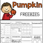 Pumpkin Freebies