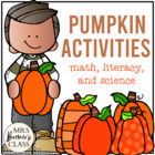 Pumpkin Fun! {Math and Literacy Activities}