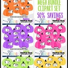 Pumpkin Headz Mega Savings Bundle Clipart Set