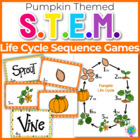 "Pumpkin Life Cycle ""War"" card game center"