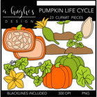 Pumpkin Life Cycle {Graphics for Commercial Use}