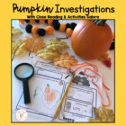 Pumpkin Life Cycle:Common Core Galore Literacy Activities