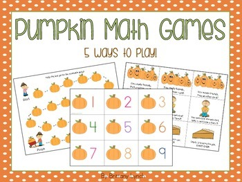 Pumpkin Math Games