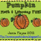Pumpkin Math &amp; Literacy Fun!