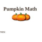 Pumpkin Math Powerpoint Template