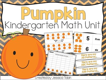 Pumpkin Math Unit Kindergarten