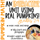 Pumpkin Math and Science Unit