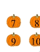 Pumpkin Number Line Activity