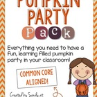 Pumpkin Party Pack