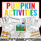 Pumpkin Patch Activites