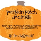 Pumpkin Patch Decimals {4 Different Games}