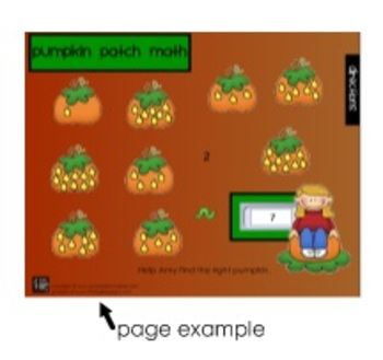 Pumpkin Patch Math - A Smartboard Activity