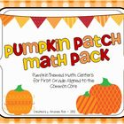 Pumpkin Patch Math Pack (Pumpkin Themed Math Centers for F