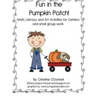 Pumpkin Patch Math and Literacy Unit 104 pages!