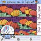Pumpkin Patch Project ~ K-2 Landscape w/ Secondary Colors 