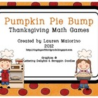 Pumpkin Pie Bump Game- Multiplication & Addition